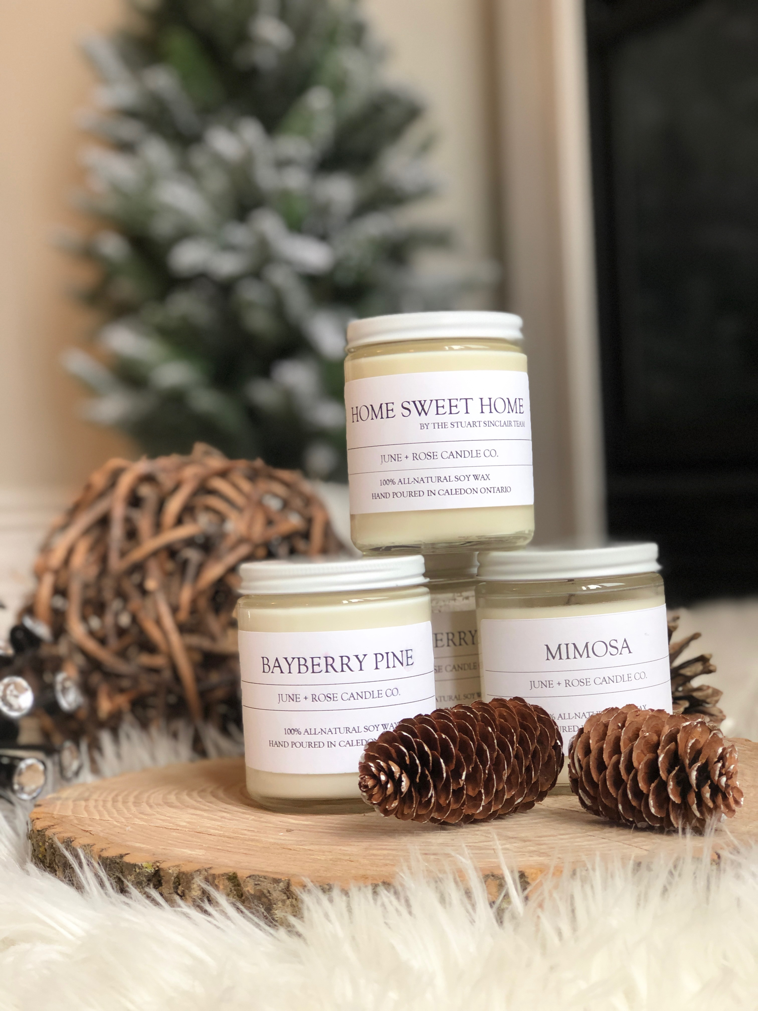 June and Rose Candle co